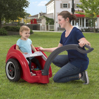 Kids of all ages fit into the Parent's Choice Award winning Trail Master Wagon