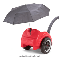 Easy to mount umbrellas or other accessories right onto the Trail Master Wagon