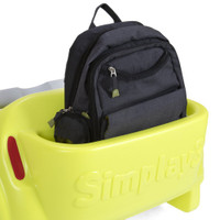 Trail Master 2-Seat Wagon with a convenient storage area for your book bag, snack, water and more!