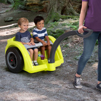 Trail Master 2-Seat Wagon for children works on all sorts of terrain to provide the most fun in the most spaces.