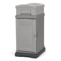Simplay3 Hide Away Parcel Box with Planter in gray