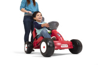 Simplay3 Fold & Go Rally Racer for kids who love action with a Indy race car like design.