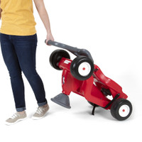 Simplay3 Fold & Go Rally Racer folds for easy moving and storage.