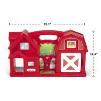 Simplay3 Carry & Go Farm is made in the USA.