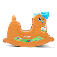 """Simplay3 Rock Away Pony with colorful """"rocking horse"""" themed decals"""