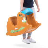 Simplay3 Rock Away Pony is lightweight and easy for parents to move from room to room