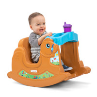 Simplay3 Rock Away Pony for boys and girls features snack tray with drink holder