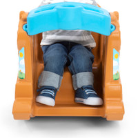 Simplay3 Rock Away Pony with spacious leg room and sturdy footrest