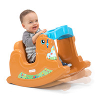 Simplay3 Rock Away Pony toddler rocking toy for ages 12-36 months is made in the USA