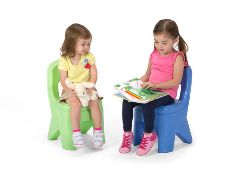 Play Around Chairs - Periwinkle & Lime 2 Pack
