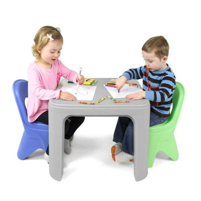 6e0840c54155 ... Simplay3 Play Around Table and Chair Set for safe all-purpose child  play activities from