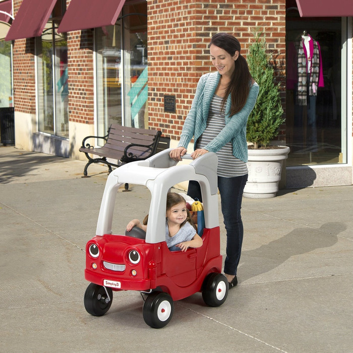 Simplay3 My Buddy & Me SUV with large handle for push along cruising.