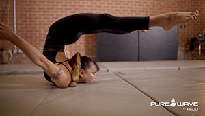Pure Wave Helps Aerialist