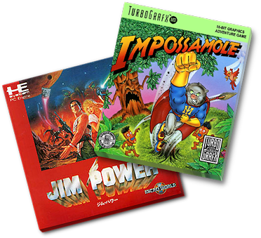 Jim Power in Mutant City & Immpossamole