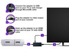 LevelHike Cable compatible with HDMI for Super Nintendo (Model 1)