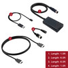 LevelHike Cable compatible with HDMI for Sega Genesis 1/2/3, Sega CD, Sega CDX, Sega 32X, Sega Nomad, Sega Master System