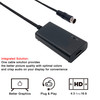 LevelHike HD Compatible Cable for Sega Genesis 1/2/3, Sega CD, Sega CDX, Sega 32X, Sega Nomad, Sega Master System