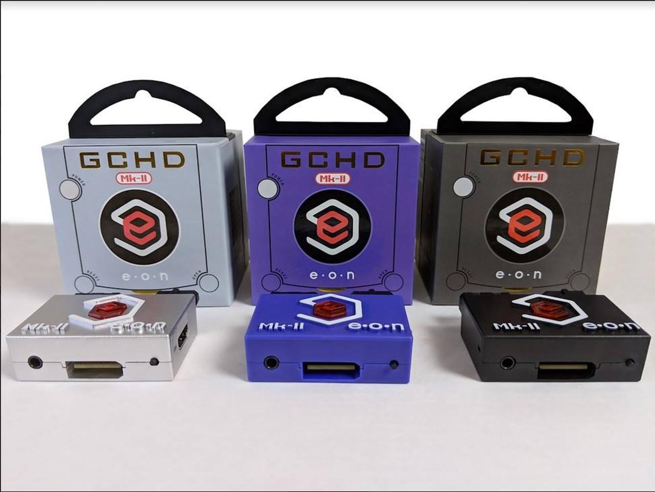 GCHD Mk  II Plug 'n Play HDMI GameCube Adapter HD 480p