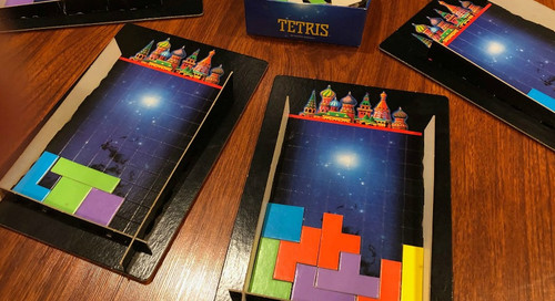 Feeling Board - The Tetris Board Game