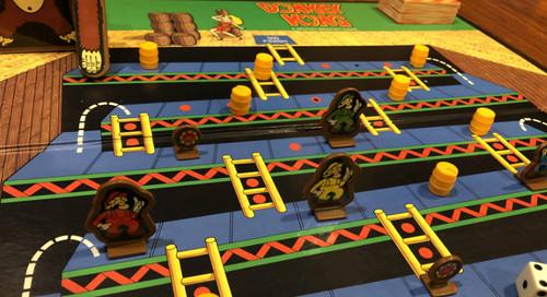Feeling Board: The Donkey Kong Board Game