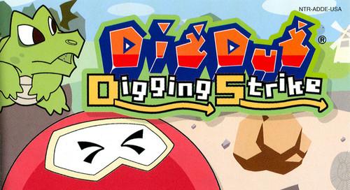 Dig Dug DS Does Digging Delightfully