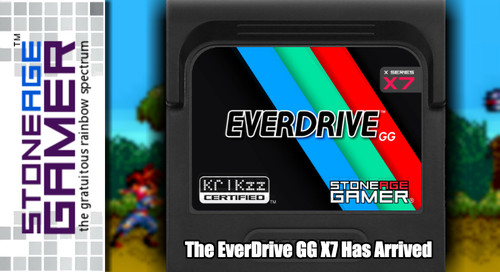 The EverDrive GG X7 Has Arrived