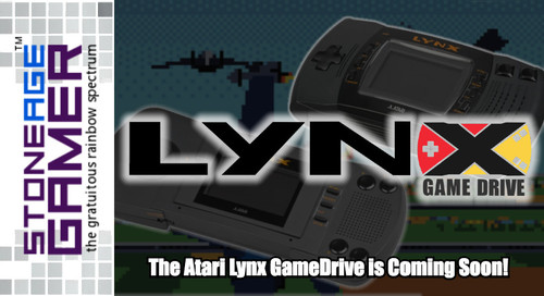 GameDrive for Atari Lynx is Coming Soon!