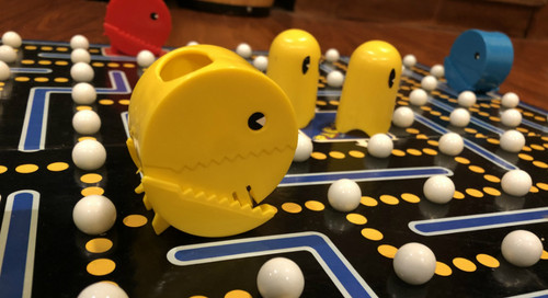 Feeling Board; The Pac-Man Board Game