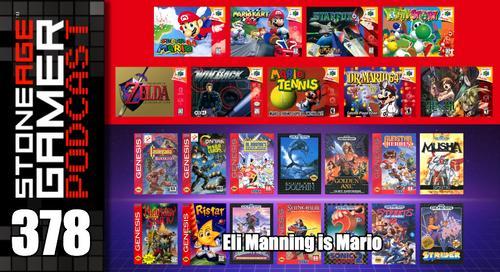 SAG Episode 378: Eli Manning is Mario