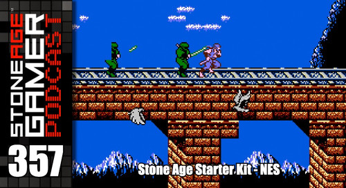 SAG Podcast Episode 357: Stone Age Starter Kit -NES