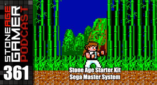 SAG Podcast 361: Stone Age Starter Kit - Sega Master System