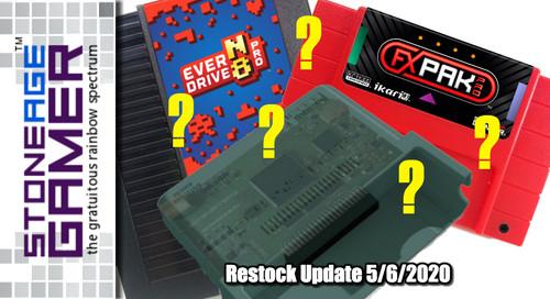 Restock Update 5/6/2020