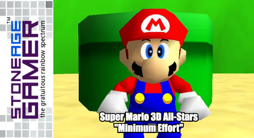 "Mario 3D All-Stars ""Minimum Effort"""