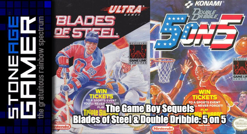 The Game Boy Sequels: Double Dribble 5 on 5 & Blades of Steel