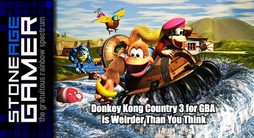 Donkey Kong Country 3 for GBA is Weirder Than You Think