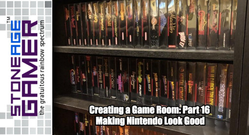 Creating a Game Room: Part 16 - Making Nintendo Look Good