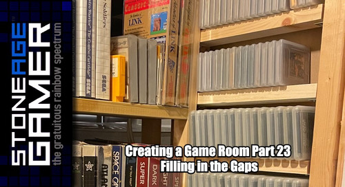 Creating a Game Room: Part 23 - Filling in the gaps
