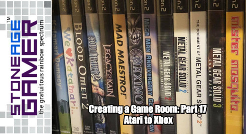Creating a Game Room: Part 17 - Atari to Xbox