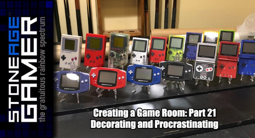 Creating a Game Room: Part 21 - Decorating and Procrastinating