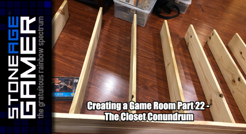 Creating a Game Room: Part 22 - The Closet Conundrum