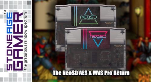 The NeoSD AES & MVS Pro Return