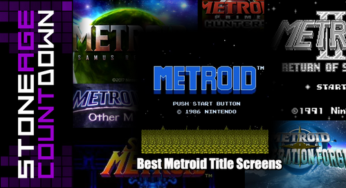 Stone Age Countdown: Best Metroid Title Screens