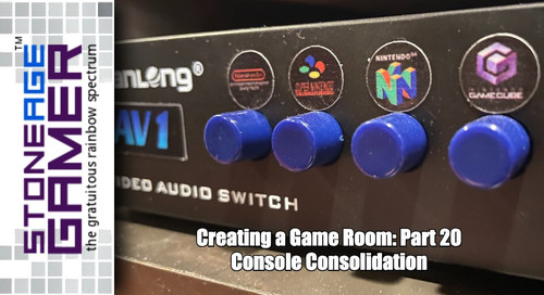 Creating a Game Room: Part 20  Console Consolidation