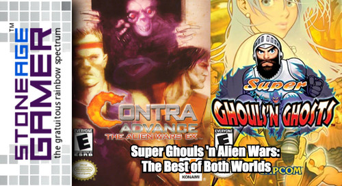 Super Ghouls 'n Alien Wars: The Best of Both Worlds