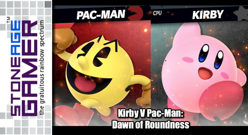 Kirby V Pac-Man: Dawn of Roundness