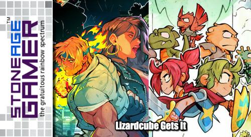 Lizardcube Gets it