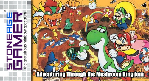Adventuring Through the Mushroom Kingdom