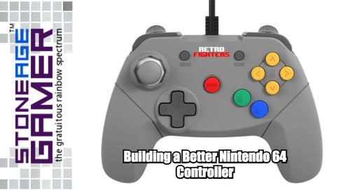 Building a Better Nintendo 64 Controller