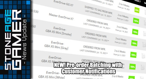 NEW! Pre-order Batching with Customer Notifications