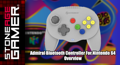 Admiral Bluetooth Controller for Nintendo 64 Overview